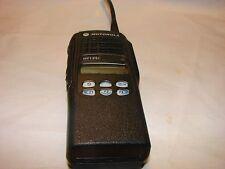 MOTOROLA HT1250 RADIO 128 CH-4W UHF 450-512 MHz AAH25SDF9AA5AN  GMRS EMS FIRE