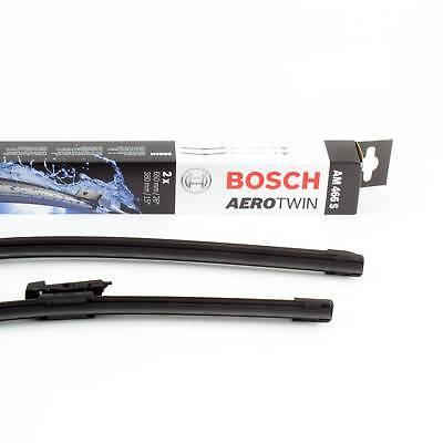BOSCH Wischblatt Aerotwin Multi-Clip AM466S 3397007466 Scheibenwischer 650/380mm