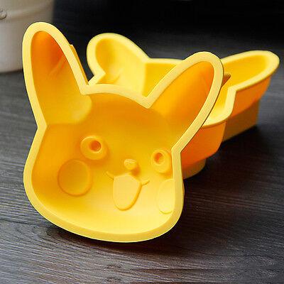 2PC Pokemon Go Pikachu cake mold medium Pokemon Jello cake mould pokemon party
