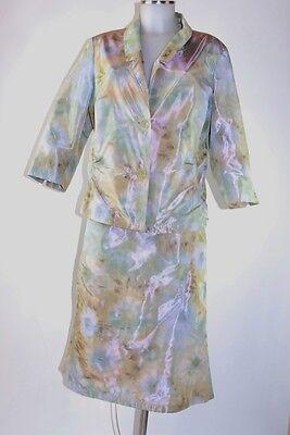 Onesto Costume Modee 44 In Pastello Rock E Blazer Elegante, Skirt Blazer Nuovo New-mostra Il Titolo Originale