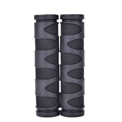 2pcs Rubber Bicycle Grips Cycling Mountain Bicycle Scooter Handle Bar Grip BR