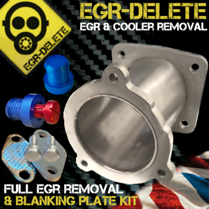 Details about BMW EGR & COOLER DELETE REMOVAL KIT BLANKING PLATE BYPASS  335d 530d 535d E60 E90