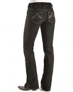 Ariat Real Denim Black Bootcut Riding Jeans | eBay