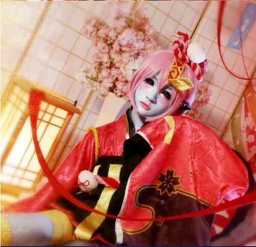 Onmyoji Game Jump Sister Unawakening Cos Kimono Dress Woman Cosplay Custume