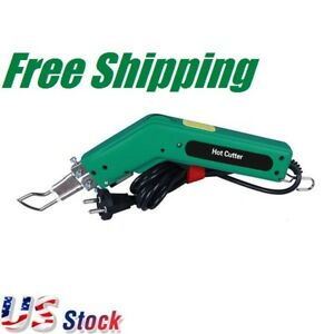 110V-100W-Hot-Heating-Knife-Cutter-Tool-for-Fabric-and-Rope-Cutting-US-Stock