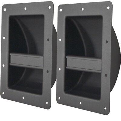 metal bar handles lot of 8 for pa dj guitar bass guitar speaker cabinets ebay. Black Bedroom Furniture Sets. Home Design Ideas