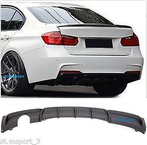 m sport performance rear bumper diffuser single exhaust. Black Bedroom Furniture Sets. Home Design Ideas