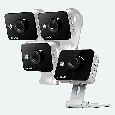 Smart HD Outdoor WiFi IP Cameras with Night Vision 2 Pack Renewed Zmodo Wireless Security Camera System