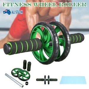 Popular-AB-Abdominal-Waist-Workout-Gym-Exercise-Fitness-Roller-Wheels-Knee-Pad