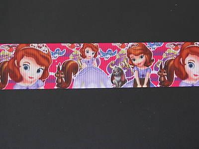 "princess sofia grosgrain ribbon 7//8/"" per 1 m hair scrapbooking card making"