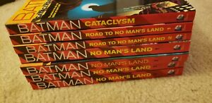 Batman Cataclysm Road to and  No Man's Land