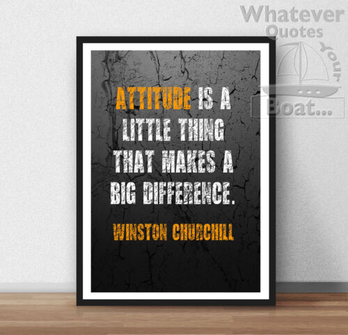 All Sizes Frame Winston Churchill Quote Poster Print Wall Art