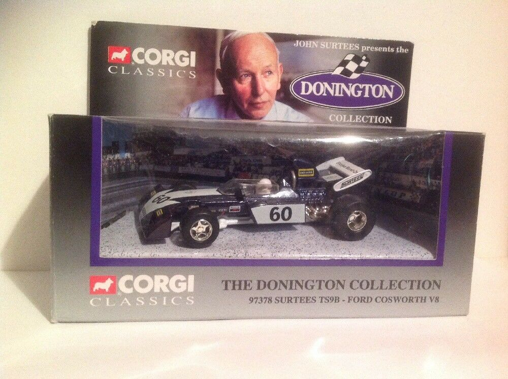 CORGI 97378 The Donnington Collection Surtees TS9B - Ford Cosworth V8