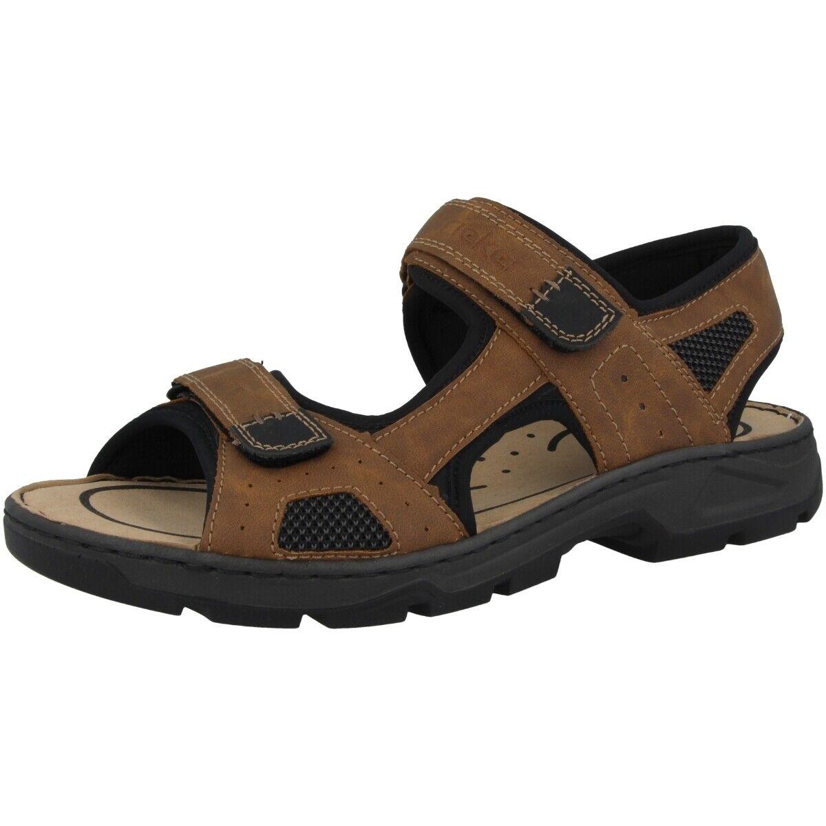 Rieker Auxerre-Scuba-Techknit-Oilybuk Schuhe Herren Sandale Antistress 26156-25