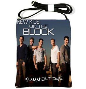 New Kids On The Block Hot Shoulder Sling Bag Purse Gift
