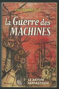 La-Guerre-des-machines-Lieutenant-KIJE-Rayon-Fantastique-1959-SF27A