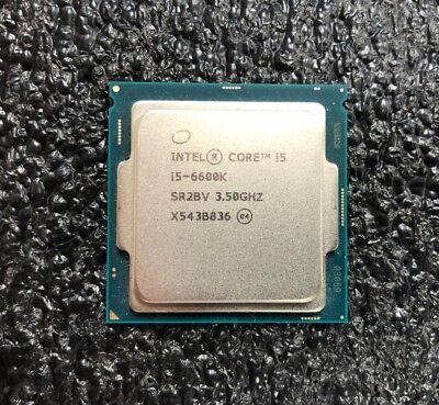 Intel Core i5-6600K Quad-Core Desktop Processor 3.5 GHz 6 MB Cache LGA 1151