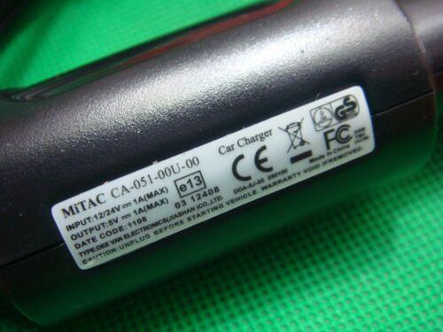 Original Mitac Magellan Roadmate OEM Traffic Car Charger Micro USB CA-052-00U-19