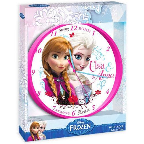 24CM disney frozen anna elsa horloge mur chambre enfants filles cadeau pendaison