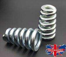 """Solo Seat Springs 3"""" Heavy Duty Harley Bobber chopper Triumph Scooter Universal"""