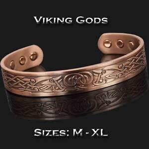 Viking Bracelet Mens Copper