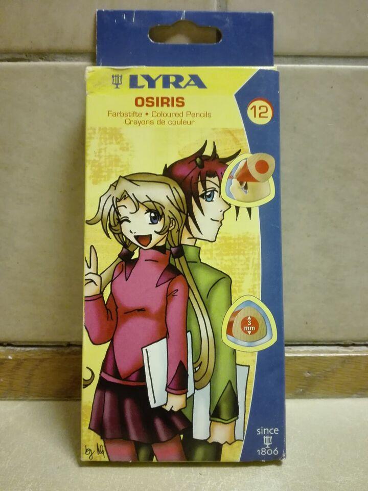 Andet legetøj, Farveblyanter, Lyra Osiris