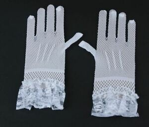 Fingerlose Brauthandschuhe Handschuhe,Weiß,30cm,HS-BG-W