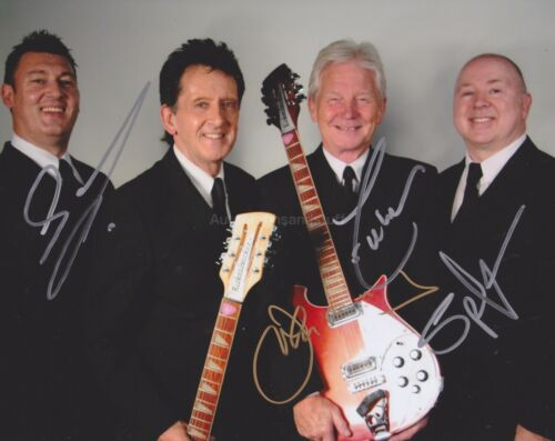 When You Walk In The Room The Searchers Fully HAND SIGNED 8x10 Photo Autograph