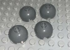 2 Brick 2x2 Round Dome Top Cross Hole Choose Color LEGO 30367 52446 11841 Qty