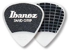 6er Pack 1,0 mm Ibanez Sandgrip Plektren PA16HSG-WH weiß Grip Wizard
