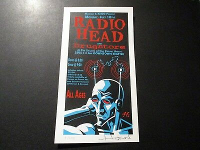 QUEENS OF THE STONE AGE Los Angeles 2005 Handbill Postcard Print poster Emek
