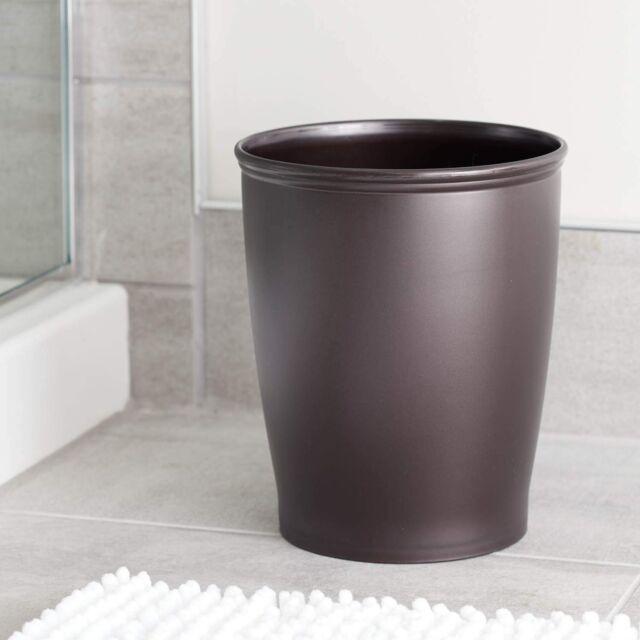 Round Kitchen Trash Can Bathroom Modern