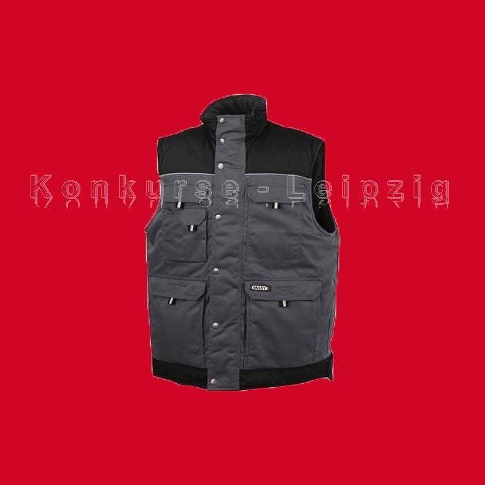 DASSY® Arbeitsweste Berufsweste Hulst 350051 XXL grau schwarz Neu | München Online Shop