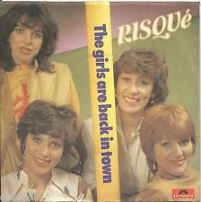 """RISQUE' - The girls are back in town VINYL 7"""" 45 ITALY 1985 NEAR MINT CONDITION"""