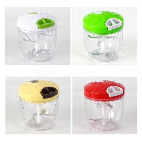 4 Color Multifunctional Kitchen Manual Food Mix Meat Fruit Greens Dicer Mixer