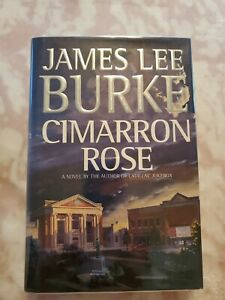 James-Lee-BURKE-SIGNED-FIRST-U-S-EDITION-of-CIMARRON-ROSE-Rare