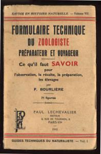F-BOURLIERE-FORMULAIRE-TECHNIQUE-DU-ZOOLOGISTE-PREPARATEUR-ET-VOYAGEUR