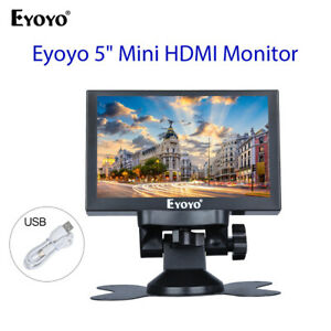 "5"" Mini-Rückfahrmonitor 800x480 unterstützt VGA HDMI BNC AV for Auto-Video"