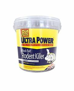 The-Big-Cheese-Ultra-Power-Block-Bait-Rodent-Killer-15x20g-Mouse-Bait-Rat-Poison