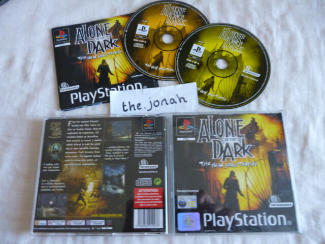 Alone in the Dark The New Nightmare PS1 (COMPLETE) black label Sony PlayStation