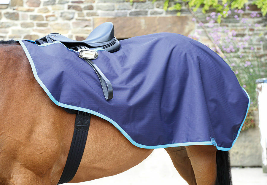Shires  Continental Pattern Exercise Sheet Rug Waterproof Fleece lined  sale online