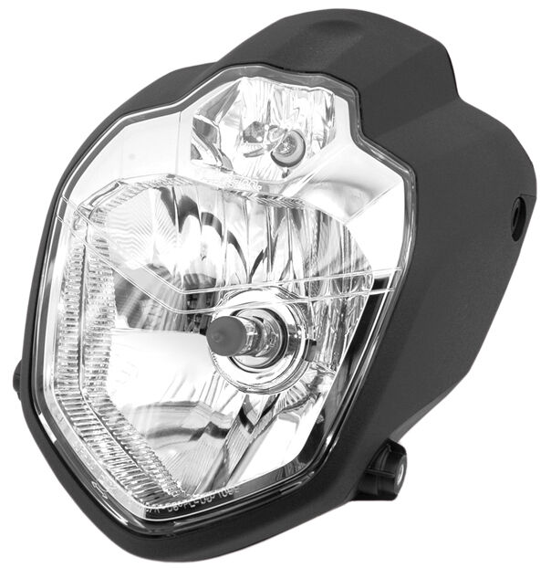 Yamaha MT 03 660 custom motorcycle headlight street bike scheinwerfer lampe