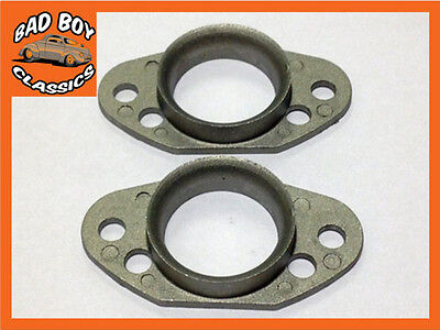 """Pair of new stub stacks for Pancake Air Filters for 1 1//4/"""" SU MG Midget Sprite"""