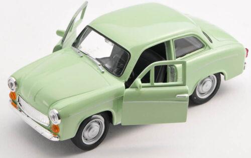 Blitz envío Syrena 105 fsm helgrün Welly modelo auto 1:34 nuevo /& OVP