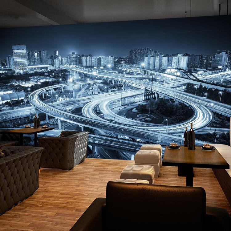 3D Développé Trafic Photo Papier Peint en Autocollant Murale Plafond Chambre Art