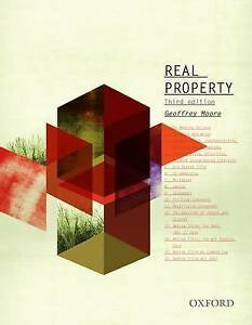 Real-Property-by-Moore-Geoffrey-Paperback-book-2012