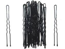 36 x 6.5cm Long Black Waved Hair Pins Bobby Pins Grips Hair Accessories UK