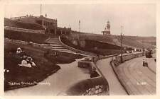 Plymouth, The Hoe Slopes, tramway, tram, rail 1908