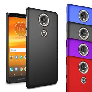 Pour-Motorola-Moto-E5-plus-6-0-034-Case-mince-dur-hybride-RETOUR-Housse-amp-Ecran