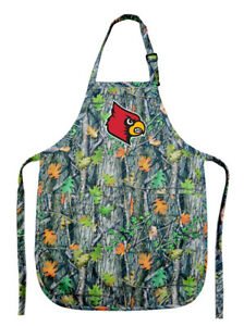 Broad Bay University of Louisville Apron Best Louisville Cardinals Logo Gift for Man or Woman Him Her